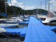 Bootsstege bauen lassen - Steg bauen mit JETfloat Schwimmelementen