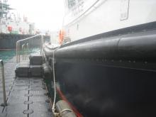 Steg aus Kunststoff - Schaartorschleuse Hamburg