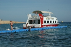 Steganlage am Yachthafen Grömitz an der Ostsee