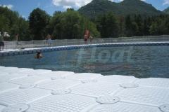 Schwimmplattform