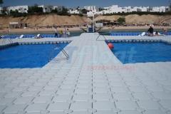 Schwimmplattformen