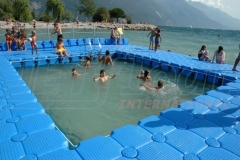 Schwimmplattform Jetfloat Ponton System
