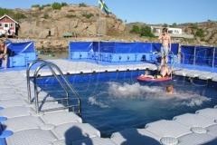 Schwimmplattform Jetfloat Ponton System bauen