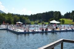 Schwimmplattform Duwe Pontons bauen