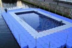 Schwimmsteg Pontons Jetfloat mieten