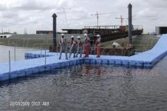 Schwimmsteg bauen Ponton JETfloat