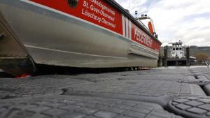 Boot Auffahrrampe