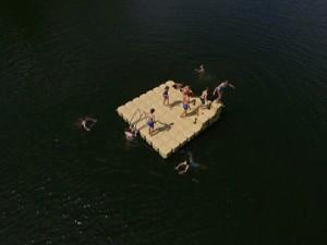 Badeinsel bauen mit Badespass
