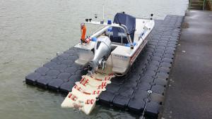 Boatlift von hinten