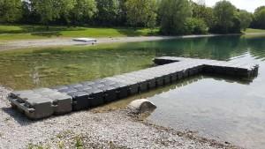 JETfloat Ponton Bootssteg Wasserwacht Feldkirchen