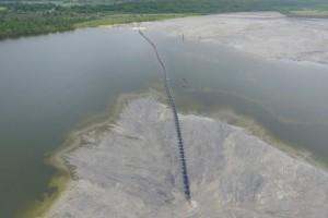 Pumpenanlage Brücke für Pumpen