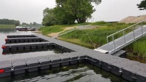 JETfloat Schwimmkörper für Bootsstegbau