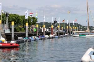 JETfloat Bootssteg Internationale Bodenseewoche 2016