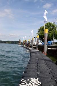 JETfloat Ponton Bootssteg Internationale Bodenseewoche 2016