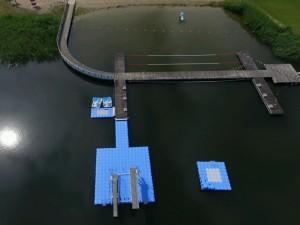 JETfloat Ponton Schwimmkörper Anlage Freibad