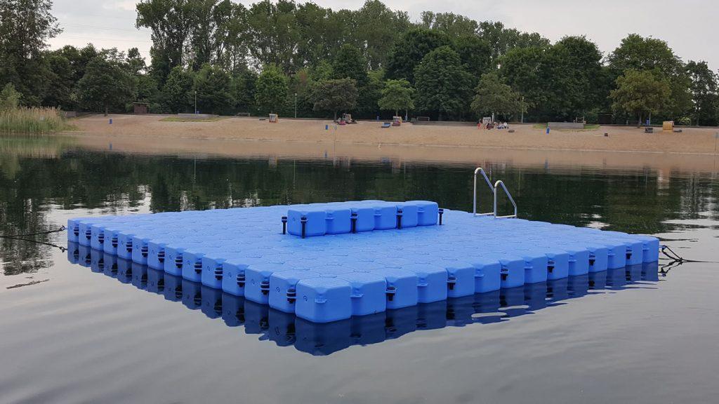 Schwimmende Insel Kunststoff Schwimmkörper JETfloat