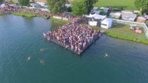 Evebtbühne SEA YOU Festival Ponton Schwimmkörper