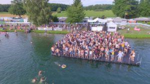 Schwimmende Bühne mieten SEA YOU Festival