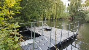 Techmönch Sanierungs mit DUwe & Partner Pontons