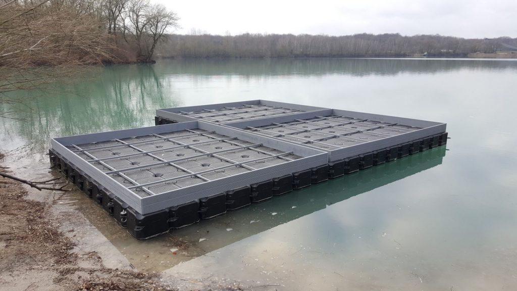 Kunststoff Schwimmkörper Brutinsel für Vögel von Duwe & Partner
