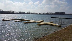 JETfloat Bootssteg bauen bzw. kaufen aus Kunststoff Schwimmkörpern
