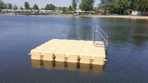 Ponton Schwimmkörper Badeinsel von Duwe & Partner in Bosau