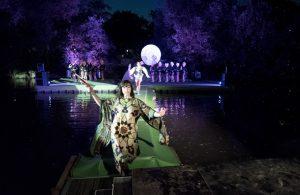 Hessisches Landestheater Marburg führt Robin Hood auf Schwimmender Plattform auf