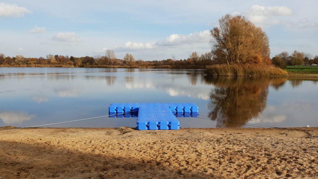 Ponton Schwimmsteg für den DLRG in Isernhagen