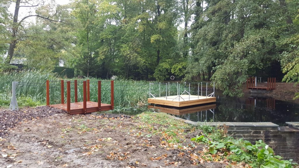 Ponton Floß bauen aus JETfloat Schwimmkörper Elementen