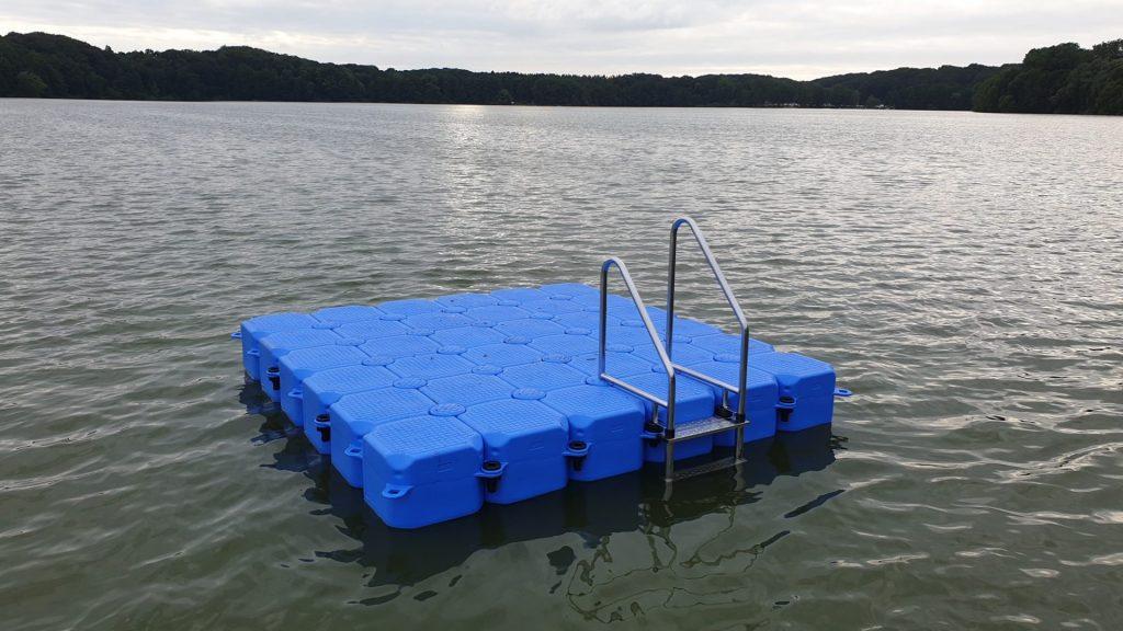 Schwimmkörper Badeinsel 3m x 3m