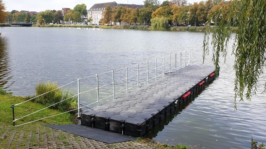 Pontonsteg für Boote von Duwe & Partner