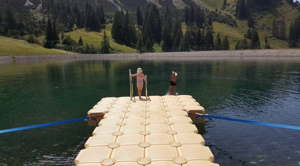 Schwimmkoerper Steg kaufen / bauen mit Duwe & Partner